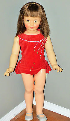 Vintage Ideal Doll Circus Acrobat Gymnast Patti Play Pal 1960,s 34 Inch