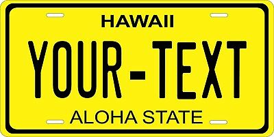 Hawaii 1931 License Plate Personalized Custom Auto Bike Motorcycle Moped Key Tag