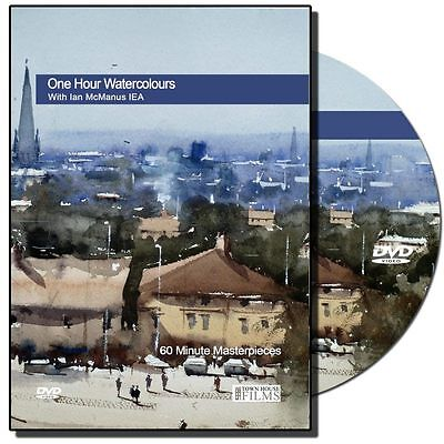 DVD - One Hour Watercolours with Ian McManus
