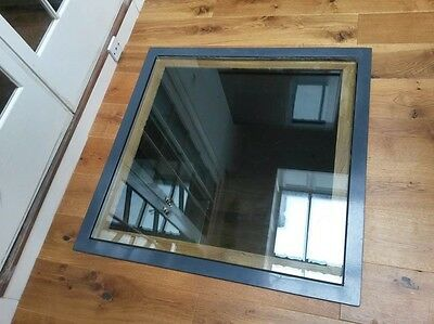 33mm Thick Toughened and Laminated Glass. Walk On Glazed Floor Panels