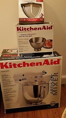 kitchenaid artisan mixer **brand new** with extras ($1400 RRP)