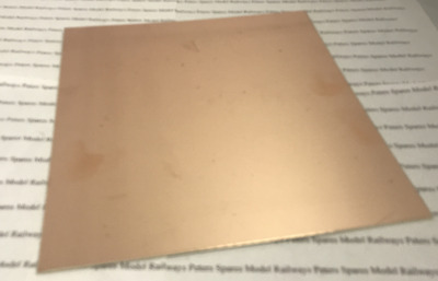 PR303 Plain Printed Curcuit Board, Single Sided. Ideal For Model Railay Pickups