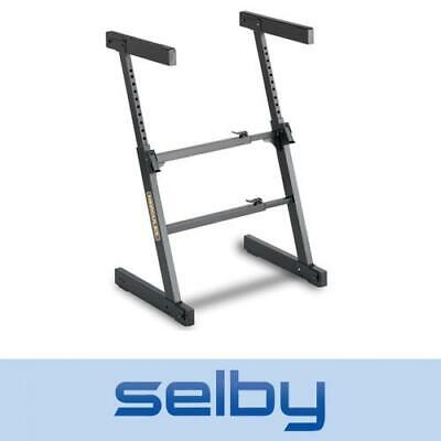 Hercules KS400B Z Style Keyboard Stand 130kg Capacity Auto-Lock System Solid