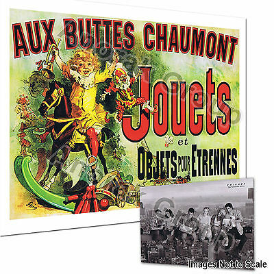 OFFICIAL Friends NY POSTCARD + Jouets Objets French Art Print (Monica TV Series)