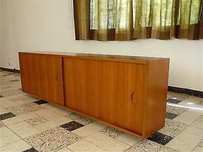 German Mid-Century Hanging SIDEBOARD by GEORG SATINK for WK WOHNEN 1960er 1960s