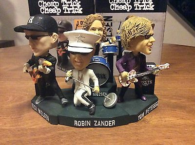 2016 Rockford Rivets Bobbleheads Set Of Four Cheap Trick Bobbleheads!