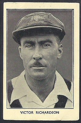 Amalgamated Press-Australian & English Cricket Stars-#10- Richardson