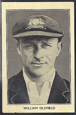 Amalgamated Press-Australian & English Cricket Stars-#08- Oldfield