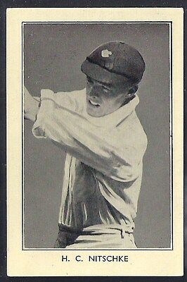 Amalgamated Press-Australian & English Cricket Stars-#26- Nitschke