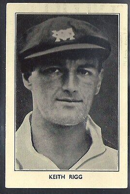 Amalgamated Press-Australian & English Cricket Stars-#30- Rigg