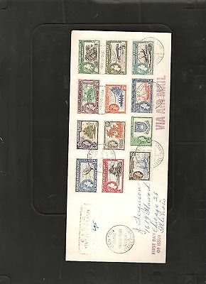 Gilbert and Ellice Island 1956 set to 10/- cover