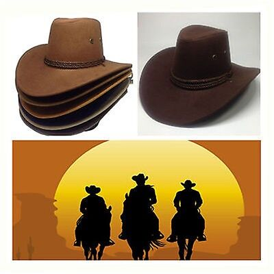 Western Cowboy Cattleman Cavalry Hat American Civil War Stetson With Acorn Band