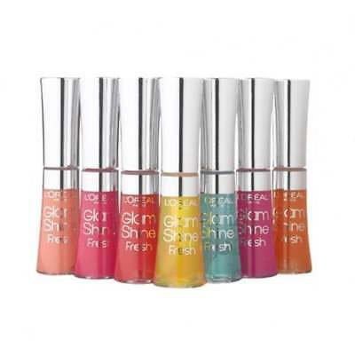 L'Oreal Glam Shine Fresh Lip Gloss Brillo De Labios - Elige Tu Color
