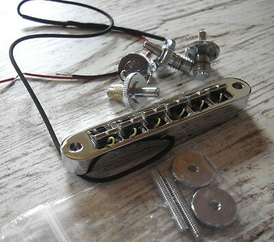 Schaller GTM Piezo Tunomatic Bridge Chrome