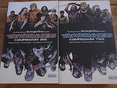 The Walking Dead Compendiums 1 & 2 -  SUPERB CONDITION