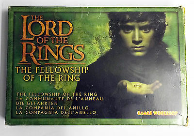 Games Workshop Lord of the Rings LoTR Fellowship of the Ring 9 Metal Figures New