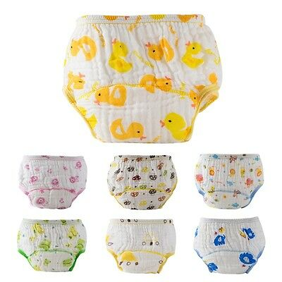Toddler Baby Cotton Summer Breathable Reusable Diaper Washable Nappy Soft Cover