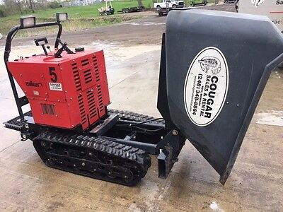 Allen Eng Concrete Track Power Buggy AT16 w/ 16CF Poly Bucket, 2500lb paylpad
