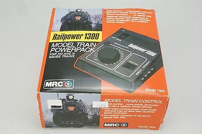 MRC Railpower 1300 Powerpack Controller for HO and N Scale Trains