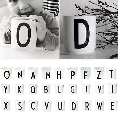 Neu Lovely Children Milk Alphabet Mug Simple Letters Baby Drink Cup Safety Cup