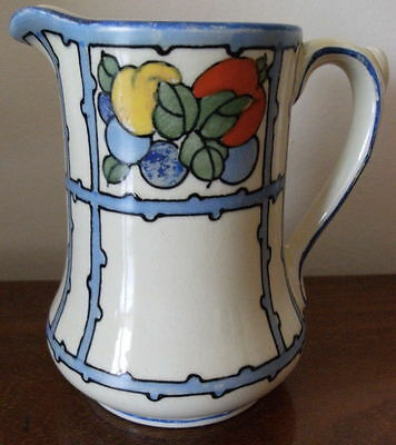 RARE BURLEIGH 1920's SIGNED TUBE LINED JUG PATTERN No 4267