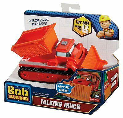 Bob The Builder Talking Muck Kids Play and Learn Truck Great gift idea