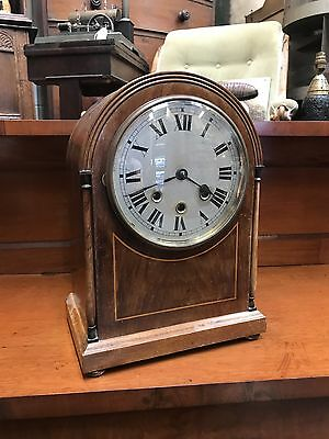 A Good Quality Edwardian Inlaid Mahogany Bracket Clock. Open To Offers?