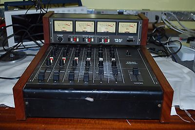 Teac Model 2A Audio Mixer with MB-20 Meter (6 in 4 out)