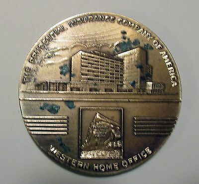 1948 Prudential Insurance Company Bronze Commemorative Paperweight