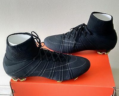 Nike Mercurial Vapor Superfly (Academy Pack Blackout) Very Rare Eu43