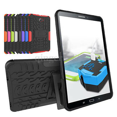 Shockproof Hybrid Armor Stand Cover Case For Samsung Galaxy Tab A 10.1 2016 T580