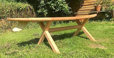 Incredible A Garden Bench Made From Redundant Skis 5 And Recylced Cast Bralicious Painted Fabric Chair Ideas Braliciousco