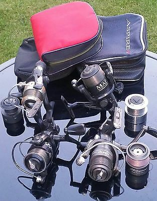 Job lot fishing reels