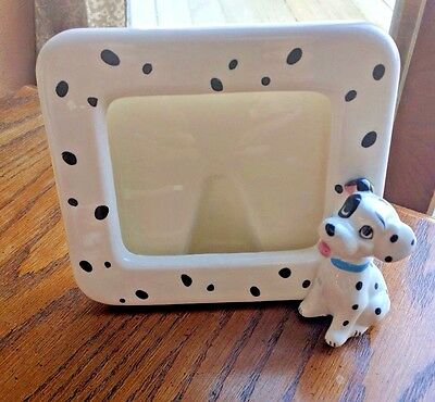 Vintage Disney 101 Dalmations Picture Frame  - Made In Japan, Walt Disney   B1