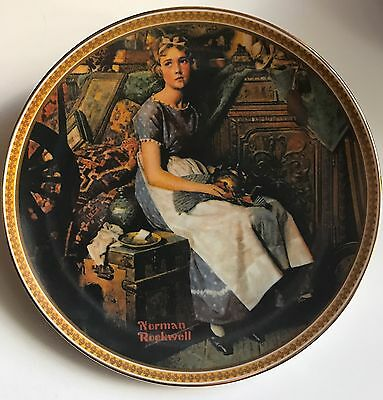 Norman Rockwell Rediscovered Women plates #1-#6