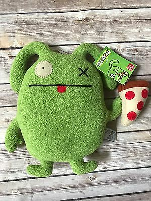 Uglydoll ugly doll Foodies Ox with Pizza HARD to FIND NWT 2013 Gund