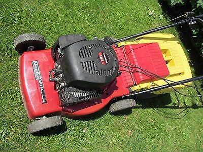Mountfield  Hand Propelled Petrol Lawn Mower With Grass Box