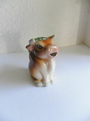 Coventry China Pottery Bull Creamer 5540 B Made in USA Country Kitchen Kitsch