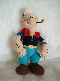 POPEYE the sailor man soft toy figure
