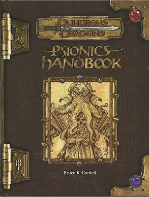 Dungeons and Dragons 3rd Edition - Psionics Handbook