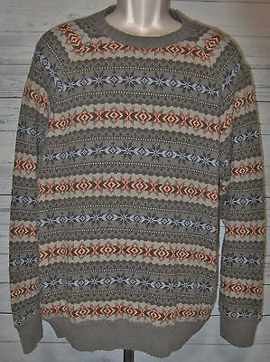 Mens Xl American Eagle Outfitters Ski Sweater Native American Print