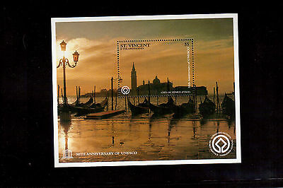 ST. VINCENT & THE GRENADINES 1997 #2404 SOUVENIR SHEET VF NH UNESCO 50th ANNIV.