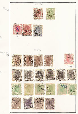 (C) Romania. Sheet Of Used Stamps