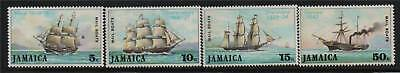 Jamaica 1974 Mail Packet Boats SG 380/3 MNH