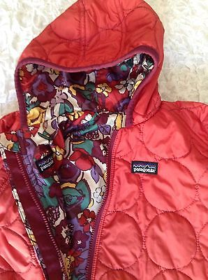 Patagonia Baby Toddler Reversible Puff Ball Snow Suit Infant EUC *No Size Tag*