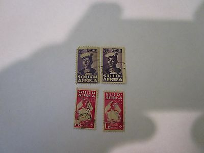 TwoPair South African Stamps Small Wars