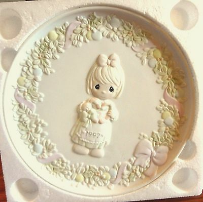 Came You Join Me for a Merry Christmas Precious Moments Plate COA NEW