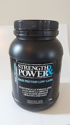 High Protein Low Carb powder - Vanilla 1Kg Tub