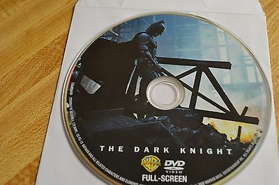 The Dark Knight (DVD, 2008, Full Frame)Disc Only Free Shipping 10-138