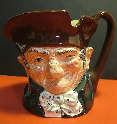 "vintage Royal Doulton ""OLD CHARLEY"" No. D5420 CHARACTER MUG w/ great graphics!"
